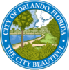 Official seal of Orlando, Florida