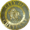 Official seal of Cheyenne (on Wyominge)