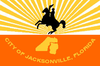 Official flag of Jacksonville, Florida