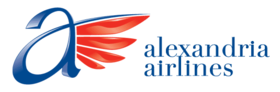 Alexandria Airlines logo.png