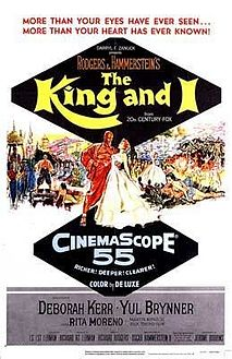 Original movie poster for the film The King and I.jpg