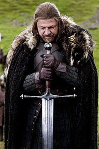 Ned Stark as Portrayed by Sean Bean in the television series 2011.jpg
