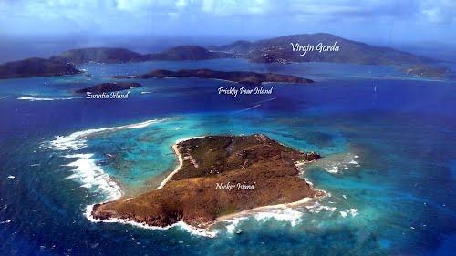 Eustatia Island Map