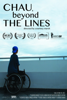 Chau, Beyond the Lines poster.png