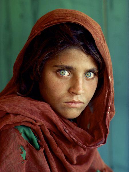 الفتاة الأفغانية شربات جولا