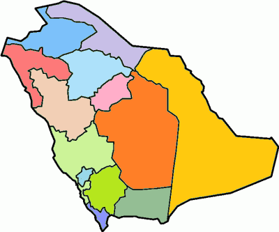Saudi Arabia - province locator template-Colored.png