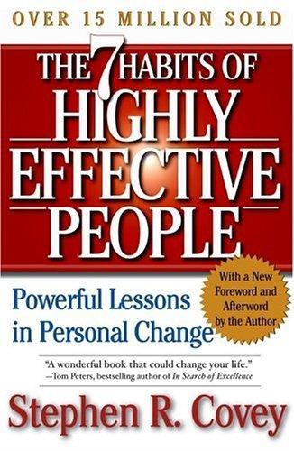 كتاب العادات السبع للناس الأكثر فعالية pdf