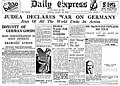 DailyExpress March1933 judeafrontpage.jpg