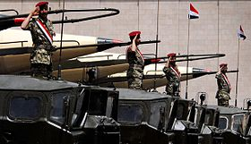 Yemeni soldiers standing on missile launchers.jpg