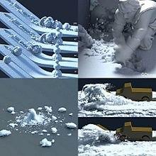 تقرير عن ديزني فروزن frozen 220px-Snow_Simulatio