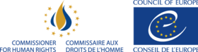 Logo of the Council of Europe Commissioner for Human Rights.png