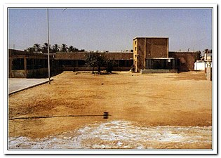 مدرسة الجارودية الابتدائية بنين قبل التوسعة.