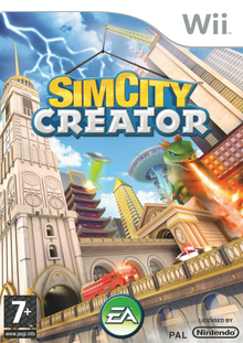 SimCity Creator Wii Game Cover Art.png