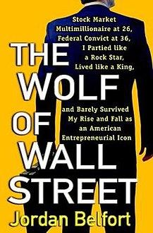 كتاب ذئب وول ستريت