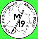 flag and logo of the M-19