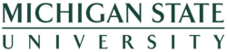 Michigan State University wordmark.png