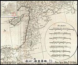 سوريا الكبرى 250px-Syria_1794_D%27Anville_map