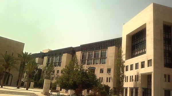 3a0c73a68 مبنى أمانة عمان الكبرى في راس العين، وسط عمّان.