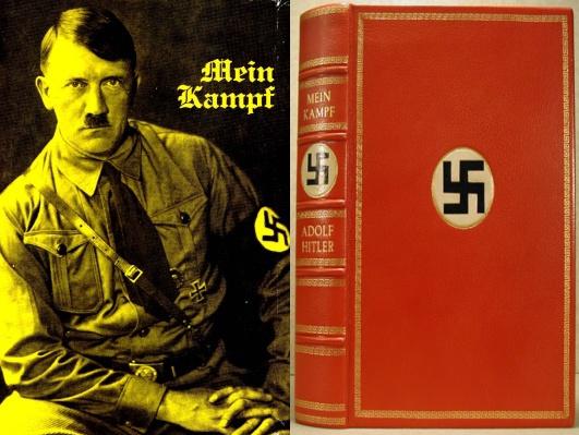 كتاب كفاحي النسخة الاصلية لادولف هتلر