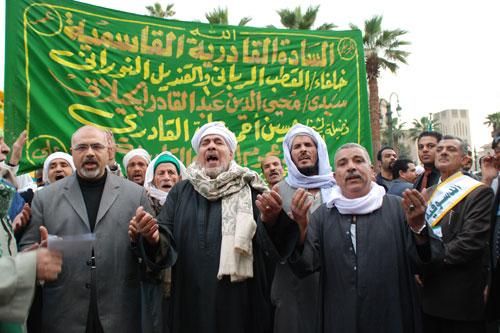 الأطوار الثلاث التي مرت بها الصوفية