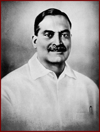 Portrait of Bidhan Chandra Roy