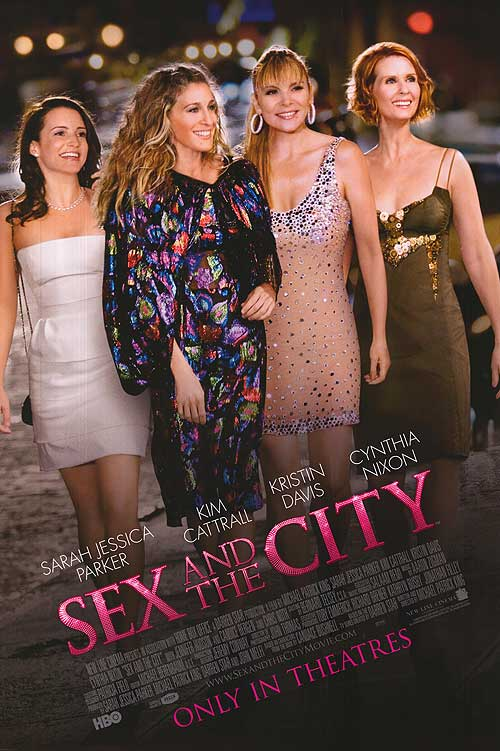Cinemas showing sex and the city