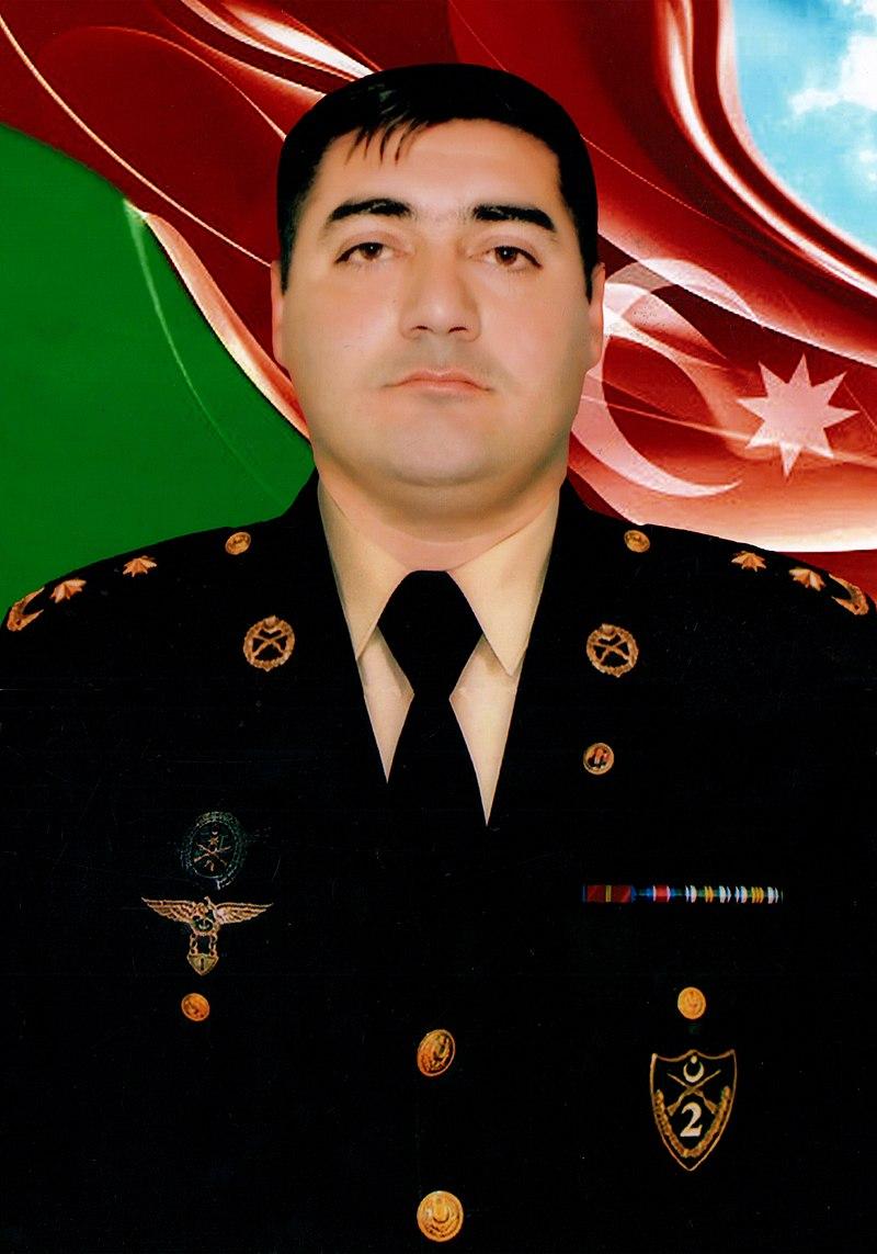Şəhid Əkbərov Orxan Nadir oğlu-Polкovniк Leytenant
