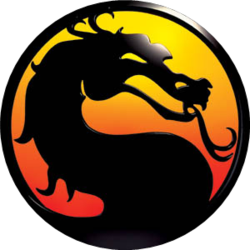 "The text ""Mortal Kombat"""