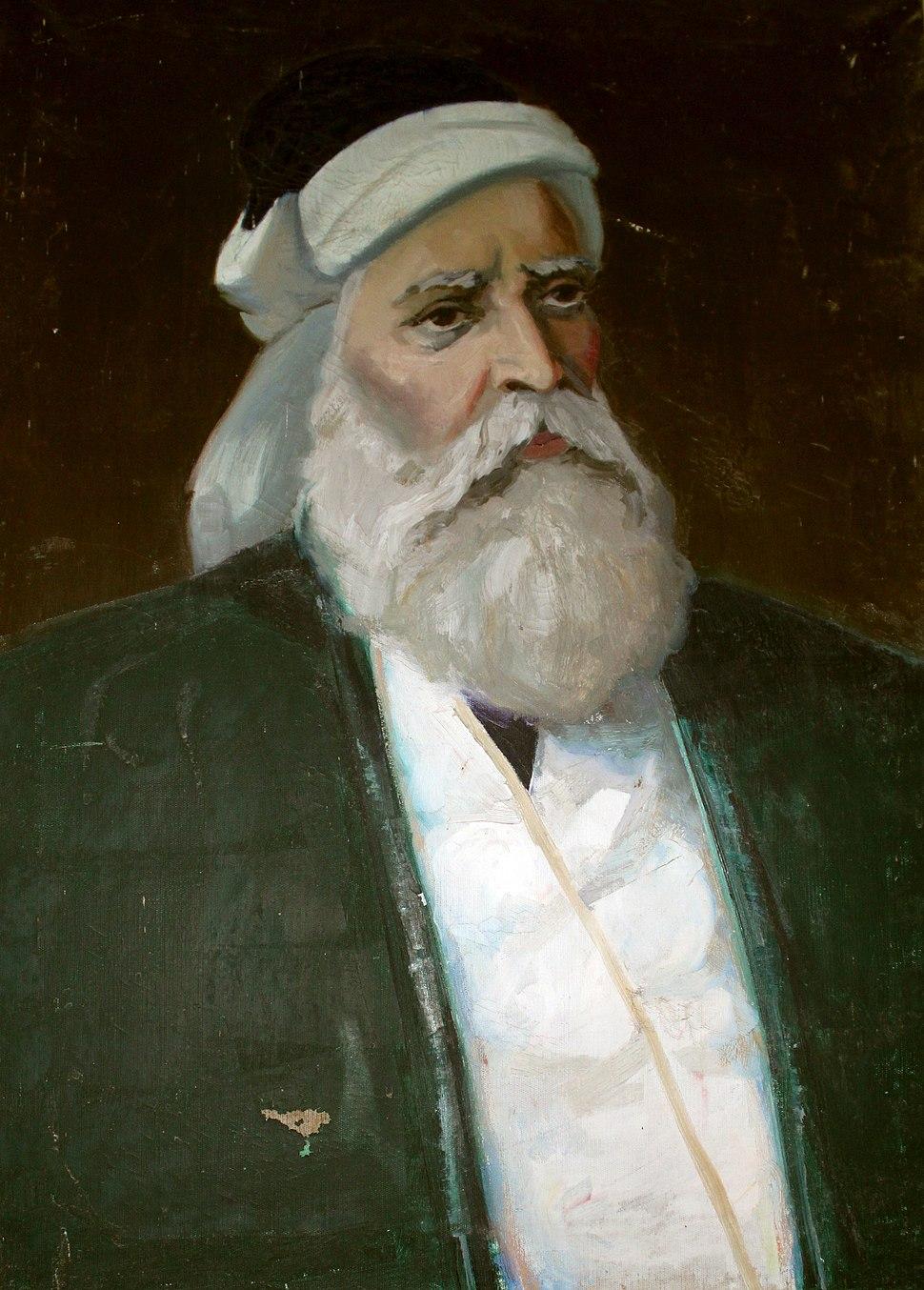 N. Babayev - Əbülüla Gəncəvinin portreti