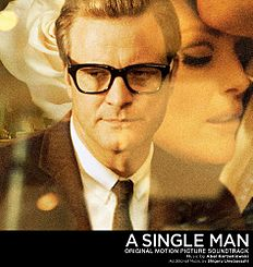 "Albomun üz qabığı Abel Korzeniovski ""A Single Man Original Motion Picture Soundtrack"" ()"