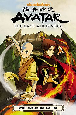 Avatar The Last Airbender Smoke and Shadow Part 1 cover.jpg