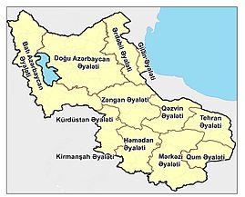 Təbriz bazarı  — yerləşdiyi ərazi Cənubi Azərbaycan