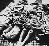 Azeri children killed by arnenian troops in Hocali.jpg