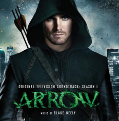"Albomun üz qabığı Bleyk Nili ""Arrow - Original Television Soundtrack: Season 1"" (2013)"