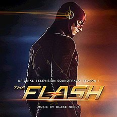 "Albomun üz qabığı Bleyk Nili ""The Flash - Original Television Soundtrack: Season 1"" (2015)"
