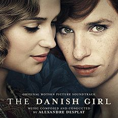 "Albomun üz qabığı Aleksandr Desplat ""The Danish Girl Original Motion Picture Soundtrack"" ()"