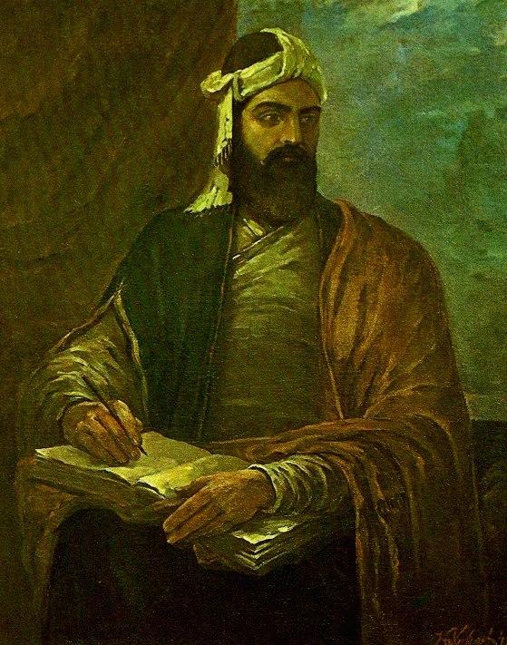 Nizaminin portreti Qəzənfər Xalıqov