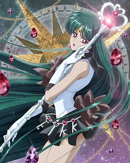 "Seylor Pluton ""Sailor Moon Crystal"" animesindən."
