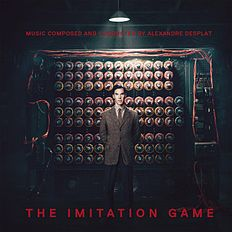 "Albomun üz qabığı Aleksandr Desplat ""The Imitation Game Original Motion Picture Soundtrack"" ({{{İli}}})"