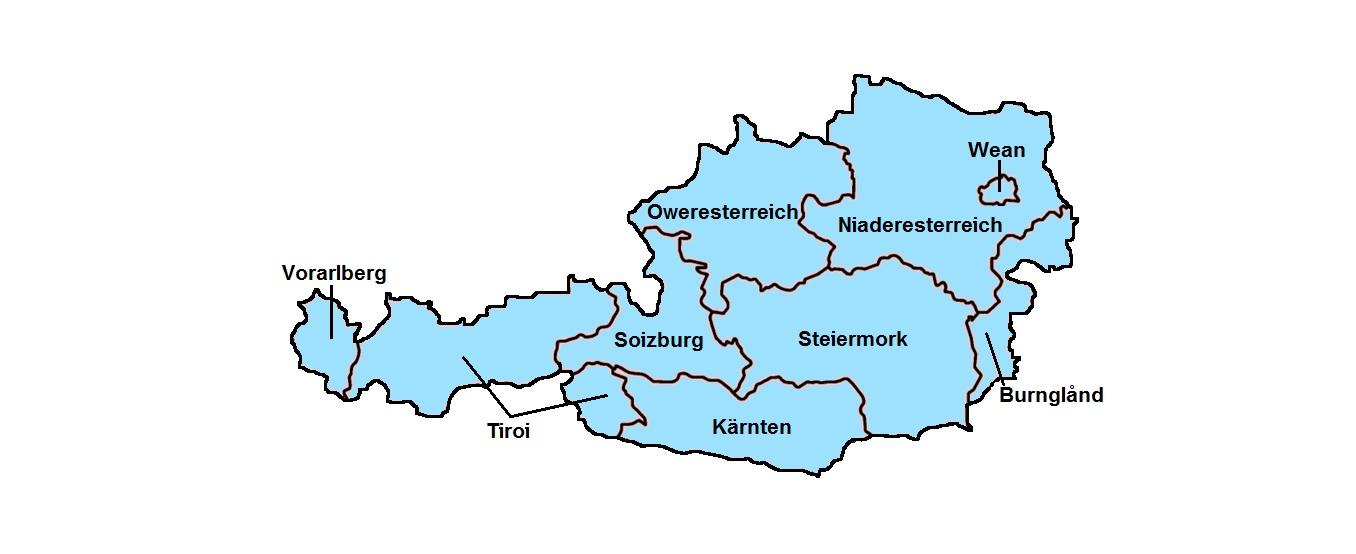 österreich Auf Englisch