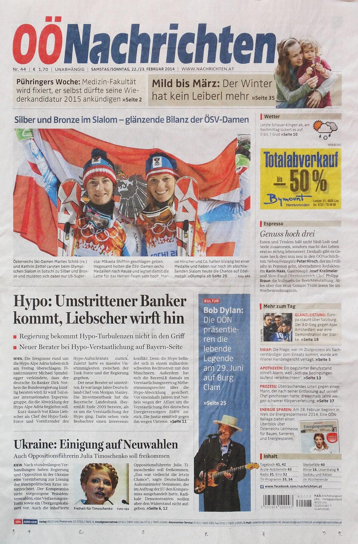 Oberösterreichische Nachrichten