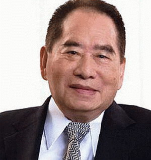 Henry Sy earned a  million dollar salary, leaving the net worth at 12900 million in 2017