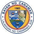Official seal of Banwaan nin Canaman