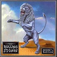 Вокладка альбому «Bridges to Babylon». The Rolling Stones. 1997