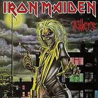 Вокладка альбому «Killers». Iron Maiden. 1981