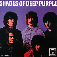 Вокладка альбому «Shades of Deep Purple». {{{Выканаўца}}}. 1968