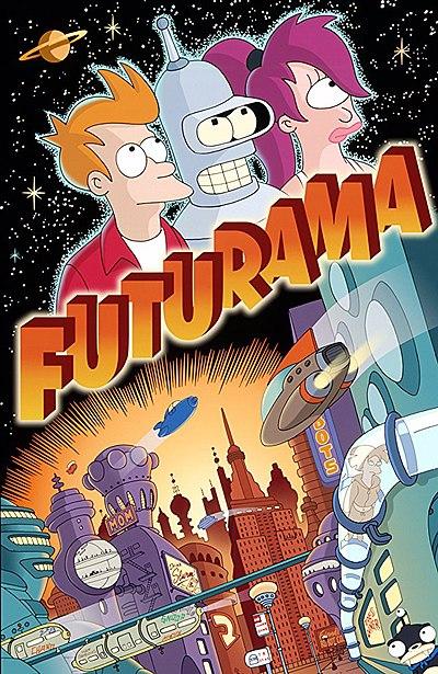 hit animated series futurama - 750×1000