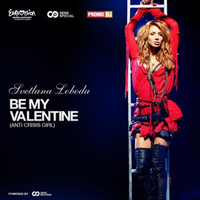 Вокладка сінгла «Be My Valentine! (Anti-Crisis Girl)» (LOBODA, 2009)