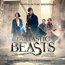 Вокладка альбома Джэймса Ньютана Ховарда «Fantastic Beasts and Where to Find Them Original Motion Picture Soundtrack» (2016)