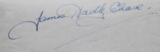 "The signature of James Hadley Chase, reading ""James Hadley Chase"""